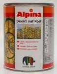 Alpina Direkt auf Rost bílá lesk 750 ml