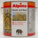 Alpina Caparol Direkt auf Rost zelená 2,5 L