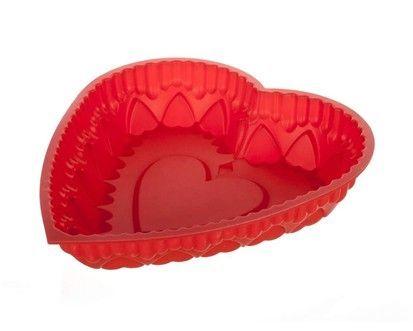 BANQUET Culinaria red Silikonová forma srdce cena od 177 Kč