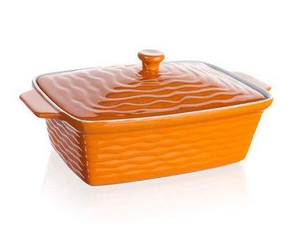 BANQUET Culinaria Orange zapékací forma obdélníková s víkem 33x21 cm cena od 430 Kč