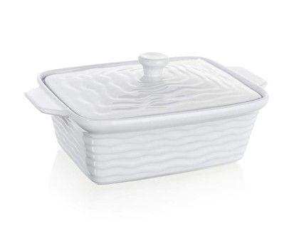 BANQUET Culinaria White zapékací forma obdélníková s víkem 28x18 cm cena od 169 Kč