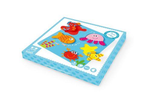 Scratch Vkládací puzzle Mořský svět cena od 449 Kč
