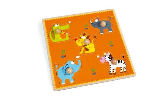 Scratch Vkládací puzzle Afrika cena od 384 Kč