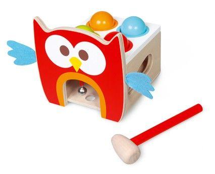 Scratch Zatloukací hračka Sovička cena od 730 Kč