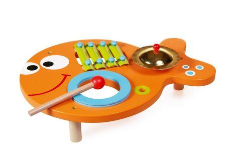 Scratch Hudební stolek 3v1 Rybička cena od 835 Kč