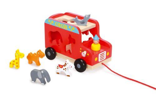 Scratch Vkládací náklaďák se zvířátky cena od 825 Kč