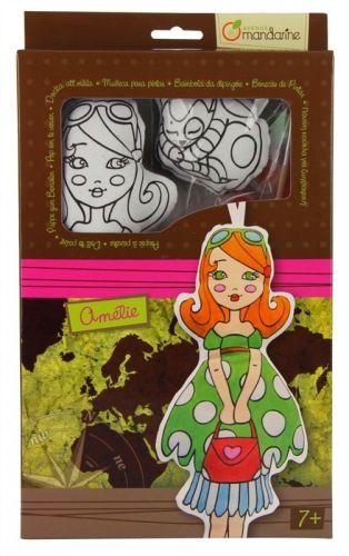 Avenue Mandarine Panenka k vymalování Amélie cena od 367 Kč