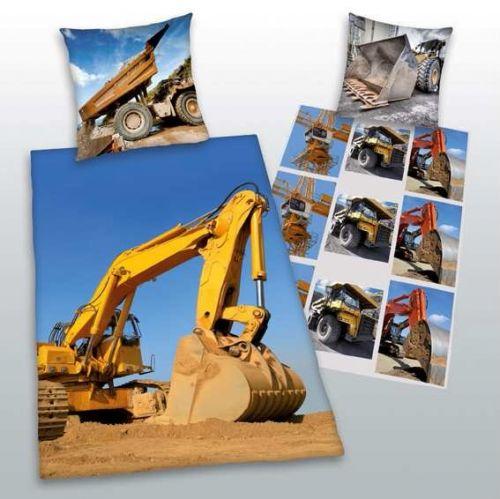 Herding Stavební stroje bavlněné povlečení cena od 629 Kč