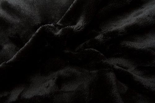 Svitap Černé mikroflanelové prostěradlo