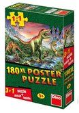 Dino Dinosauři plakát 180 dílků