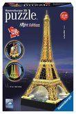 Ravensburger Eiffelova věž LED 3D 216 dílků cena od 575 Kč