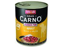 FELIX Konzerva ANIMONDA Gran Carno hovězí + krůta 800 g cena od 59 Kč