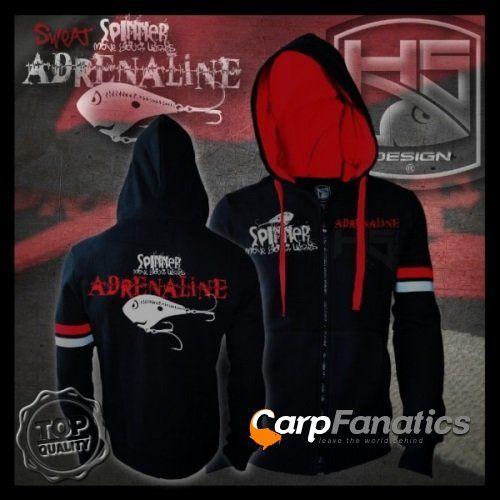 HOTSPOT Adrenaline zip mikina