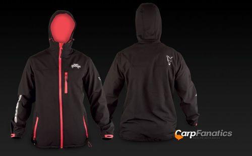 Fox Rage Hooded Black Soft Sheel Jacket bunda