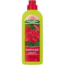 AgroBio Fantazie Muškáty a balkonové rostliny 1 l