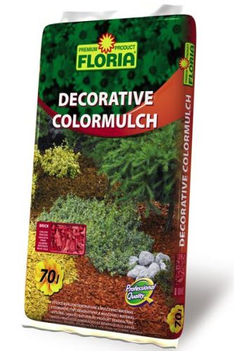 Agro CS FLORIA Decorativní ColorMulch cihlová 70 l