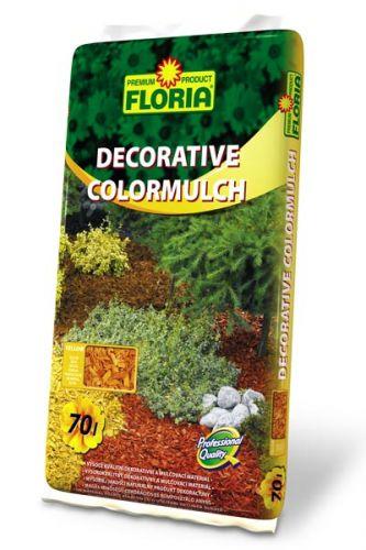 Agro CS FLORIA Decor. ColorMulch žlutá 70 l