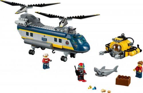 Lego City Vrtulník pro hlubinný mořský výzkum 60093