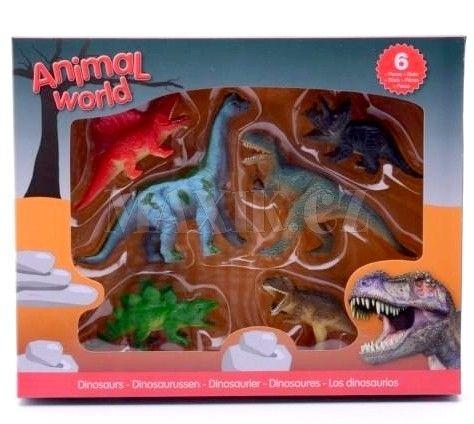 Alltoys Dinosauři v boxu cena od 119 Kč