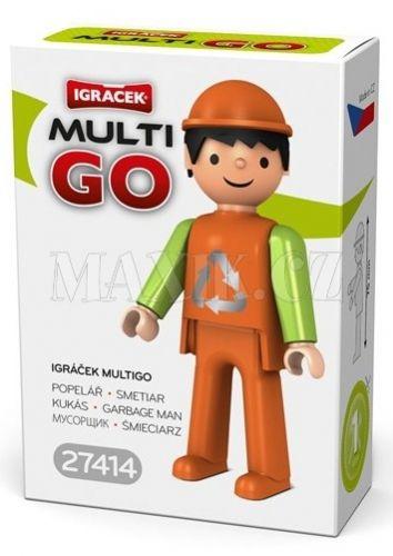 Igráček Multigo Popelář cena od 37 Kč