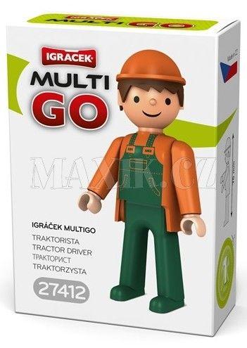 Igráček Multigo Traktorista cena od 36 Kč