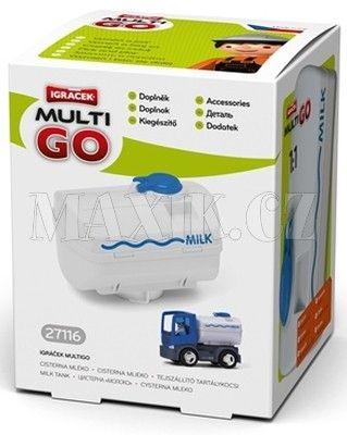 Igráček Multigo Cisterna mléko cena od 65 Kč