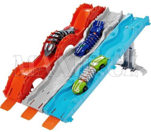 Hot Wheels Hadí skluzavka 3v1 s mutanty dráha cena od 0 Kč