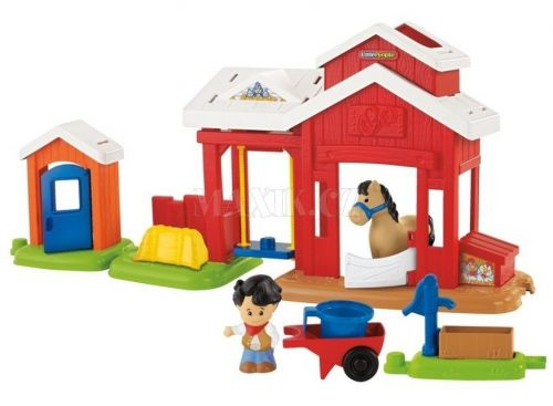XXL obrazek Fisher Price Little People Koňská stáj