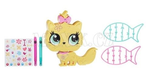 Littlest Pet Shop Dekorativní zvířátka Kočička