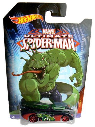 Hot Wheels Spiderman Autíčko Lizard