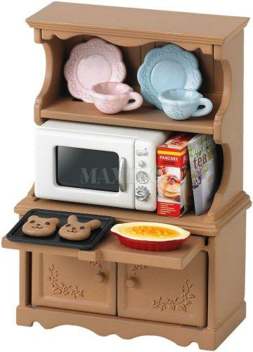 Sylvanian Families Vybavení skříň s mikrovlnnou troubou cena od 175 Kč
