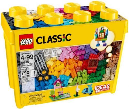 Lego Classic Velký kreativní box 10698 cena od 977 Kč