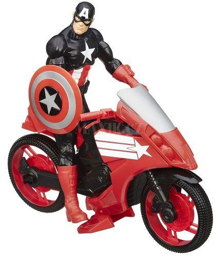 Hasbro Avengers Akční figurka s novým vozem Captain America 30 cm cena od 499 Kč