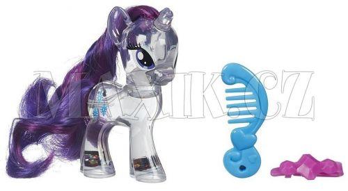 My Little Pony Průhledný poník s třpytkami a doplňkem Rarity cena od 196 Kč