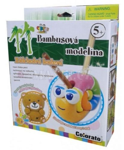 Creatoys Bambusová modelína sada v krabici cena od 105 Kč