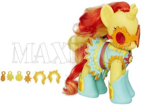 My Little Pony Kouzelný poník s oblečky a doplňky Sunset Shimmer