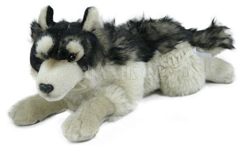 Rappa Plyšový vlk ležící 30 cm cena od 0 Kč