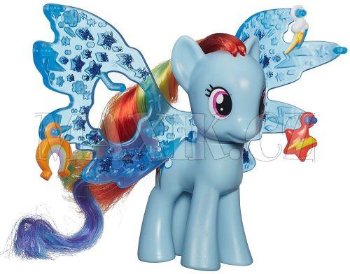 My Little Pony Poník s ozdobenými křídly Rainbow Dash cena od 238 Kč