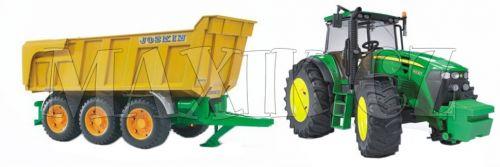 Bruder Traktor John Deere 7930 s přívěsem Joskin
