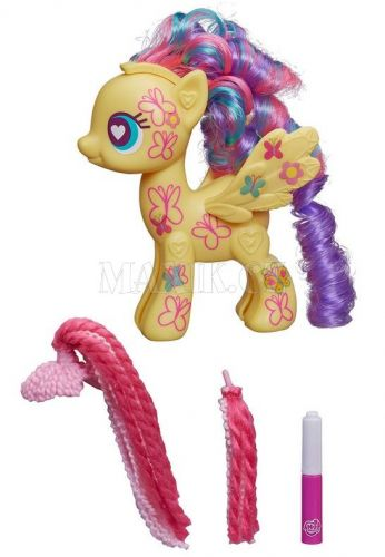My Little Pony Pop Vysoký poník Fluttershy 13 cm cena od 349 Kč