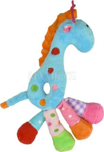 Teddies Žirafa chrastítko plyš 25 cm cena od 115 Kč