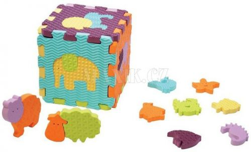 Ludi Puzzle pěnové se zvířátky do vany cena od 0 Kč