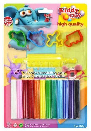 Hm Studio Modelovací hmota 12 barev, tvořítka, váleček cena od 48 Kč