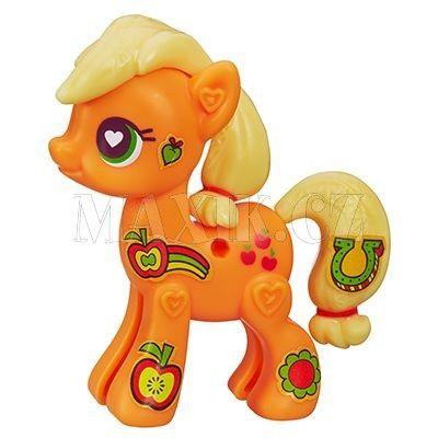 My Little Pony Pop Poník s doplňky na vycházku Applejack cena od 0 Kč