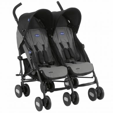 CHICCO Echo Twin COAL