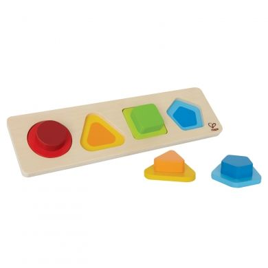 HAPE Puzzle jednoduché tvary cena od 200 Kč