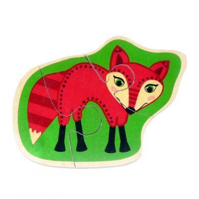 HESS Minipuzzle liška cena od 139 Kč