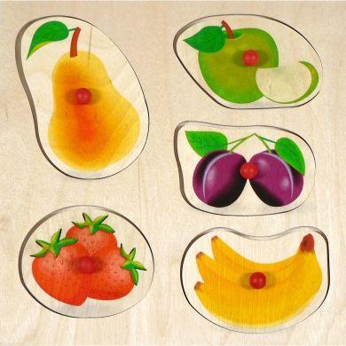 HESS Puzzle s úchopy ovoce cena od 195 Kč