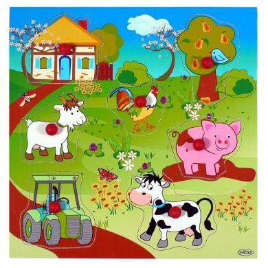 HESS Puzzle s úchopy farma cena od 306 Kč