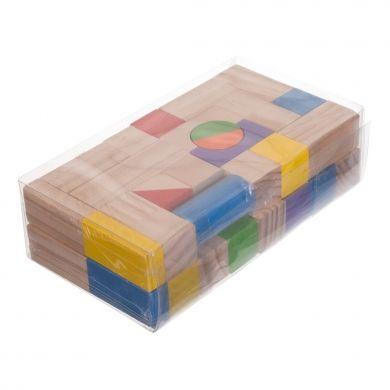 BIECO Dřevěné stavební kostky 50 ks cena od 362 Kč